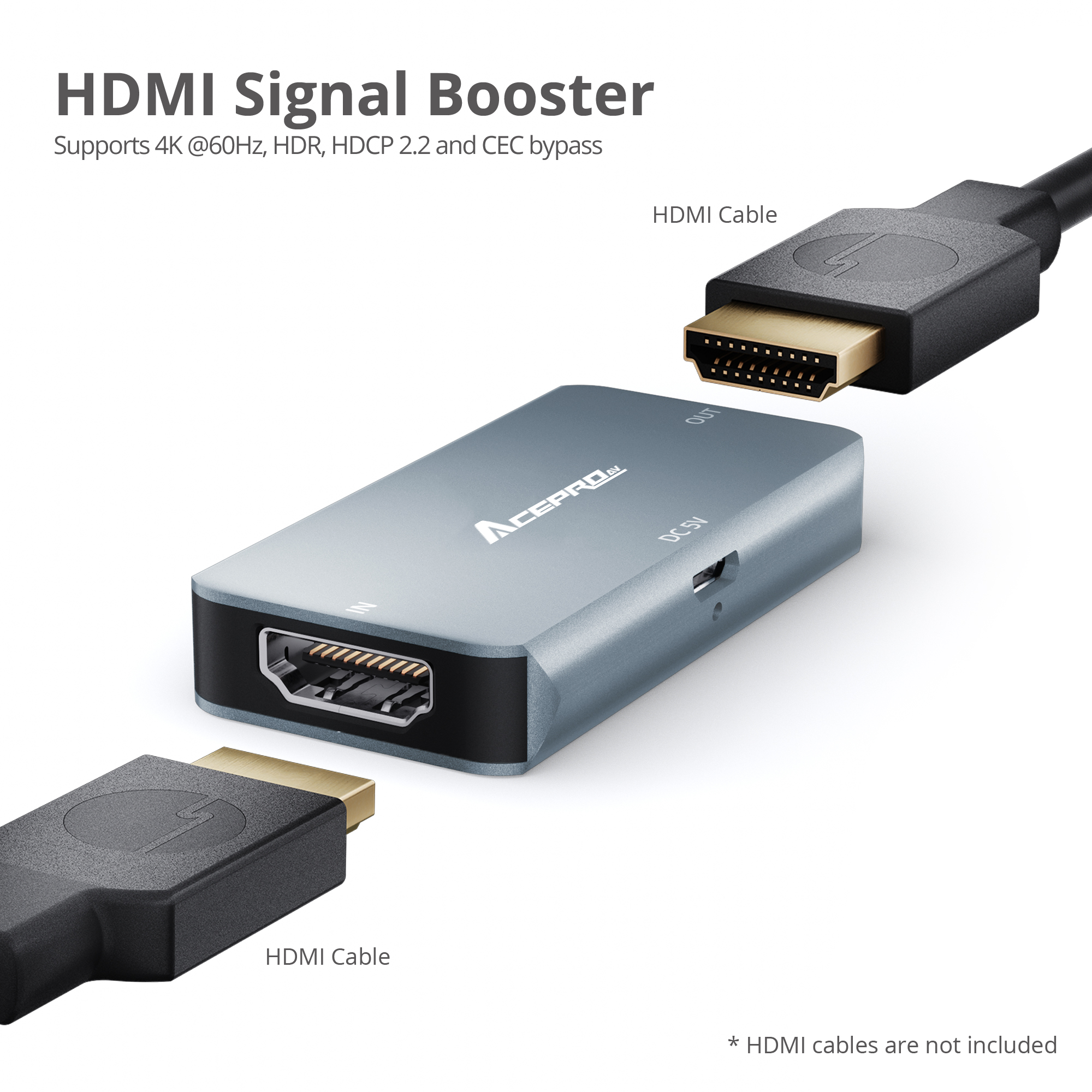 AcerPro HDMI 2 0 4K HDR Repeater | AVLT Technology| Found by AVLAB
